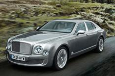 Bentley Mulsanne details revealed