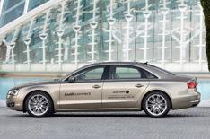 Audi reveals broadband A8
