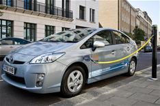 Plug-in Prius trial begins