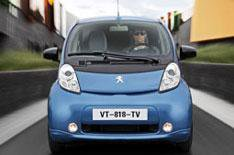 Citroen C-Zero/Pegueot iOn driven