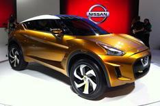 Nissan Extrem SUV concept car revealed