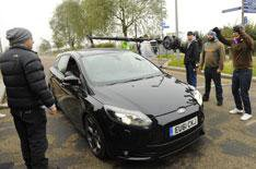 Ford Focus ST stars in The Sweeney