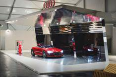 Audi reveals fuel station of the future
