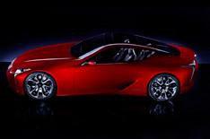 Lexus LF-LC unveiled