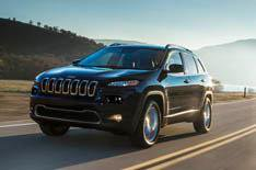 Jeep Cherokee revealed in New York