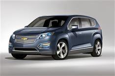 Chevrolet reveals MPV version of Volt