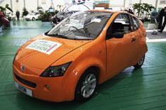Axon eco-car: 100mpg and 90mph