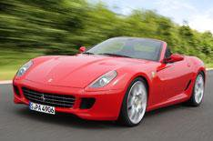 Ferrari 599 convertible revealed