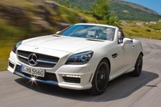 Mercedes SLK 55 AMG unveiled