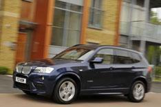 2WD BMW X3 revealed