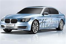 BMW's hybrid limousine