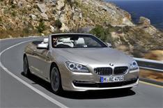BMW 650i Convertible driven