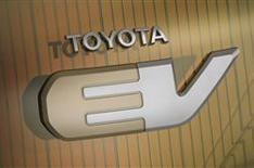 Toyota's battery-electric concept car