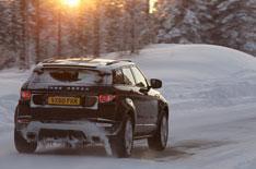 Range Rover Evoque goes Arctic video