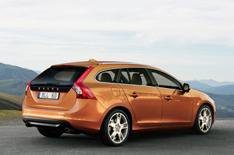 A glimpse at Volvo's new V60 estate