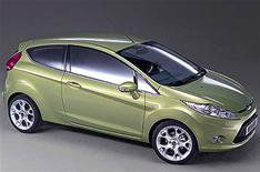 Ford Fiesta Econetic for British show
