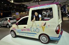 1. Hyundai i10 ice cream van
