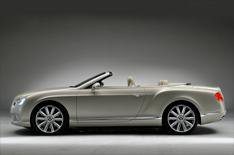 Bentley Continental GTC revealed