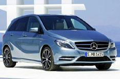 New Mercedes B-Class photo leaked