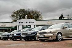 Jaguar tops dealer satisfaction survey