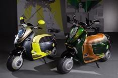 Mini and Smart unveil electric scooters