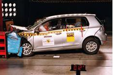 VW Golf scores high in Euro NCAP test