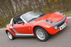 Smart Roadster and Mazda MX-5