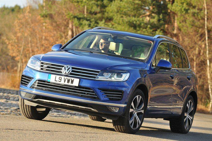 VW Touareg and Porsche Cayenne recalled in the UK