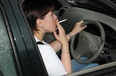 Doctors seek in-car smoking ban