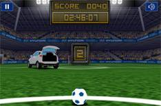 Hyundai launches football app