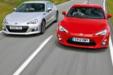 Subaru BRZ and Toyota GT86 compared