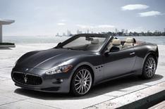 Maserati GranCabrio unveiled