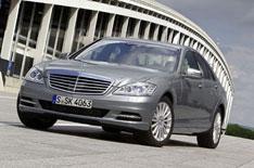 Mercedes-Benz S-Class driven