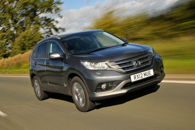 New 2012 Honda CR-V review