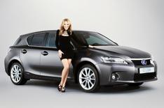 Kylie Minogue and Lexus team up