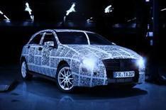 Mercedes A-Class 2012 on video