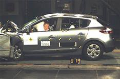 Renault Megane tops Euro NCAP crash test