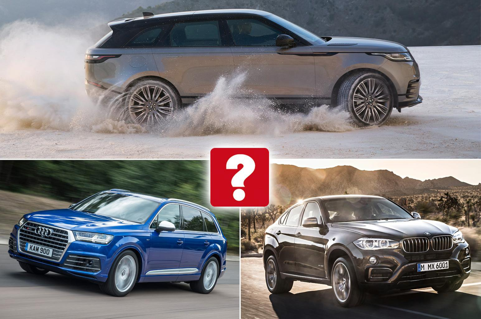 Which of these luxury SUVs do you find most desirable?