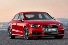 Audi A3 Saloon launched at New York show