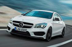 Mercedes CLA 45 AMG unveiled