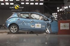 Euro NCAP praises Leaf and Focus