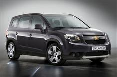 Chevrolet Orlando at Paris motor show