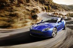 Aston launches V8 Vantage S