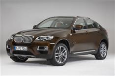 BMW X6 2012 unveiled
