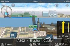 Bosch Navigation sat-nav app