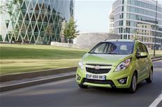 Chevrolet Spark: driven