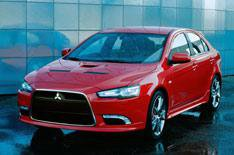 Mitsubishi's Red Hot Lancer