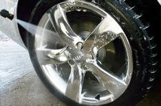 Brighter alloy wheels for Audi A6