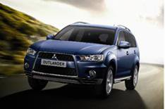 2WD for updated Mitsubishi Outlander