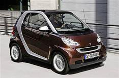 Smart's special-edition Fortwo Highstyle